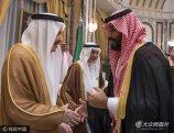 当地实际按2017年6月21日,沙特阿拉伯麦加,伊斯兰教圣城麦加举行王室成员向穆罕默德・本・萨勒曼效忠的仪式。