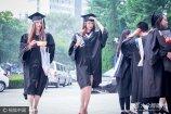 2017年6月28日,北京,就读于北京语言大学的各种颜色的皮肤、各种颜色的头发的歪果仁留学生们迎来了自己的毕业典礼。