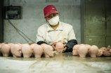 近日,江苏一家在淘宝上销售人体模型的生产工厂里,摄影师拍摄了这样的生产车间。