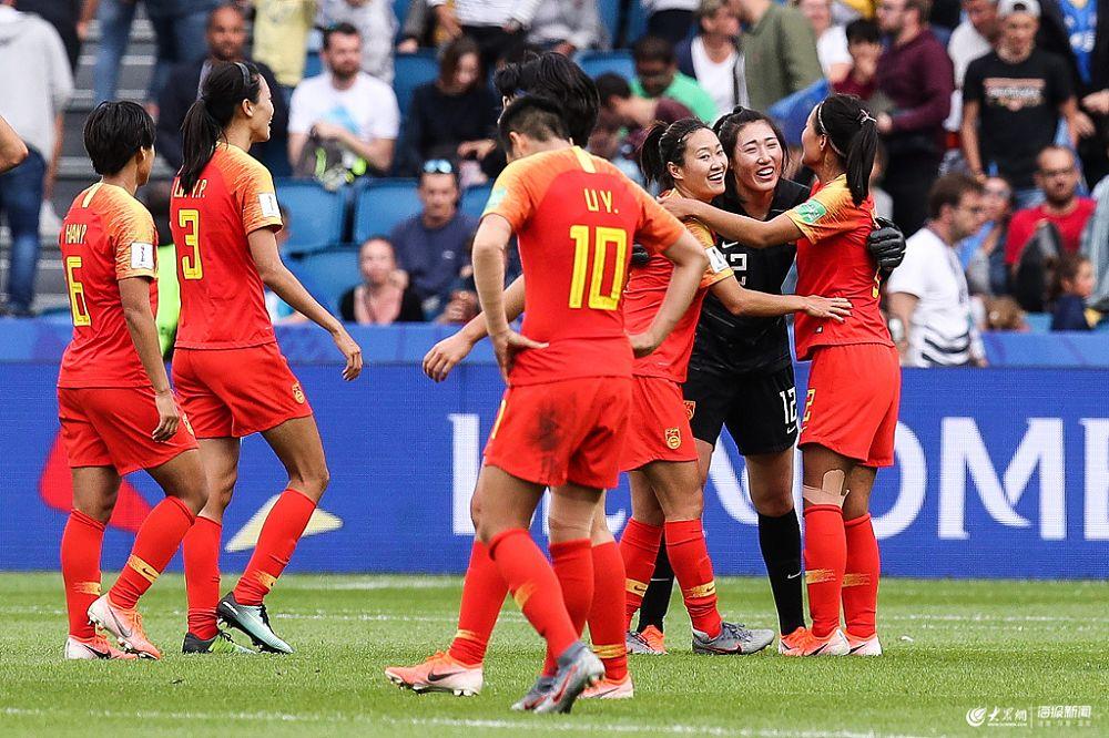 世界杯:中国女足0