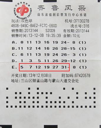 首页 山东福彩 地市之窗    双色球第2013144期摇奖,摇出红球号码05