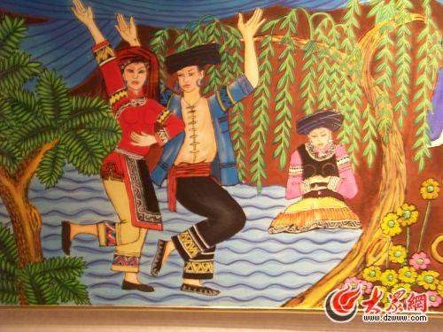 楚雄彝族自治州博物馆展示彝族历史