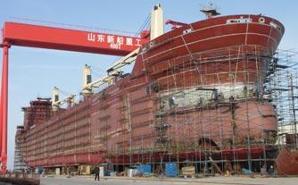 新船重工:半个世纪磨砺转身蓝色经济领头羊