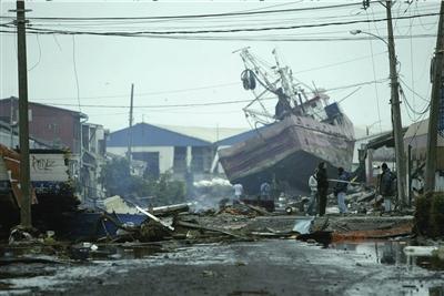 智利对重灾区实行宵禁 军队进入维持治安