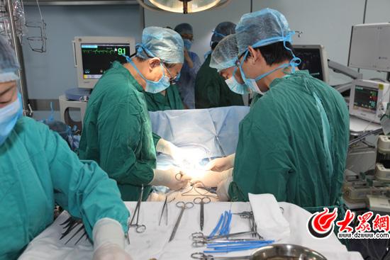 8:30:手术正式开始