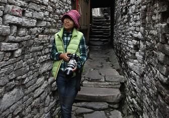 屯堡传统的石头建筑