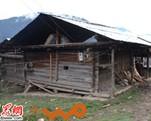 独龙族传统的木结构房子