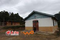 小查腊村教堂是村里唯一的砖墙结构建筑