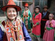 杜桂英大妈一家人