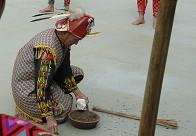 台湾少数民族举行传统祭祀仪式