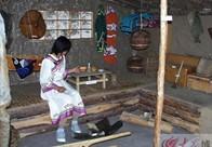十年前的赫哲族博物馆