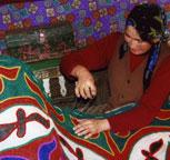 哈萨克古老的民间舞