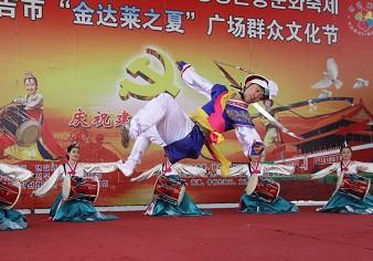 象帽舞是农乐舞的压轴大戏
