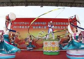 朝鲜族象帽舞