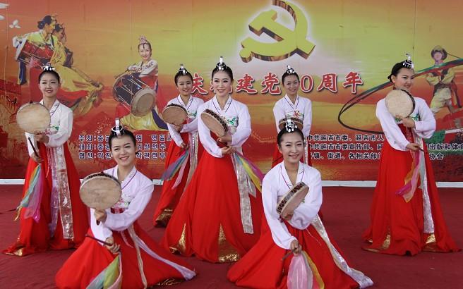 朝鲜族舞蹈《手鼓舞》
