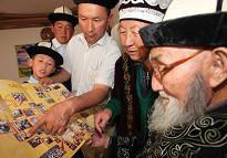 居素甫老人对我们的行程很感兴趣