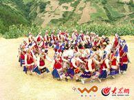 维西傈僳族歌舞――阿尺木刮