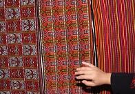 漂亮精美的黎族织锦花纹