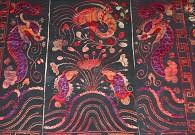 代表黎族棉纺织最高水平的龙被