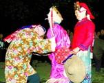毛南族傩面舞