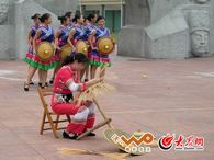 """毛南族的花竹帽也成为国家级""""非遗"""""""