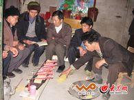 毛南族肥套仪式之:唱解关