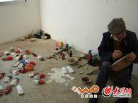 毛南族木面雕刻艺人方振国