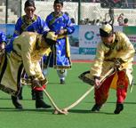 达斡尔族曲棍球的介绍