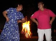 篝火晚会也是老年人的节日