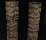 鄂伦春族的雕刻品