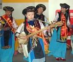 歌声中的普米族婚礼