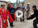 土族纳顿节的古今演绎