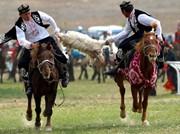 乌孜别克族体育――叼羊