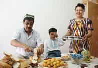 9年前的乌孜别克盛宴