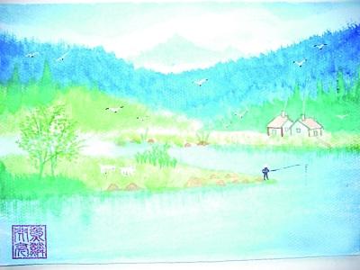 姚成平的风景水彩画