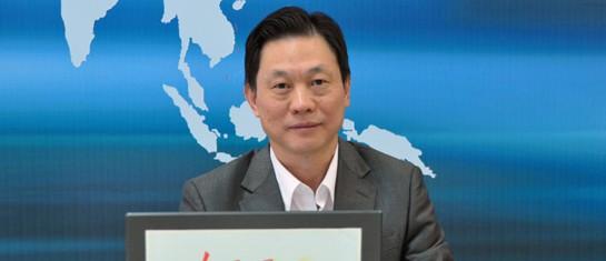 外交部边海司司长邓中华做客强国论坛