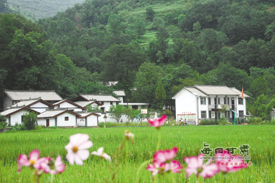 陇南农村风景图片大全