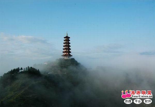 烟台塔山风景区:主峰建有宝塔而得名