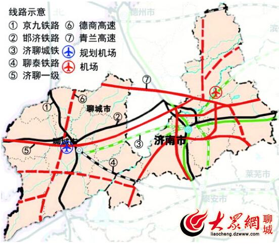 开发区,高新区,凤凰湖生态旅游度假区与原有的东昌府区,构成了聊城市