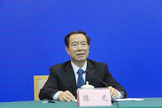 省物价局局长陈充介绍去年物价部门相关工作及春节期间工作安排.JPG