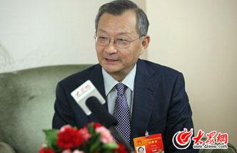全国人大代表、日照港集团董事长杜传志