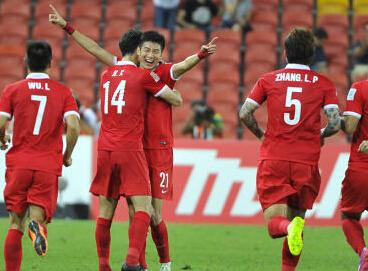 中国1-0沙特比赛集锦