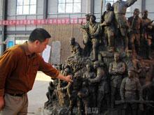 网上抗战纪念馆抢先看(8)解密群雕《泰山魂》浓缩山东抗战全景