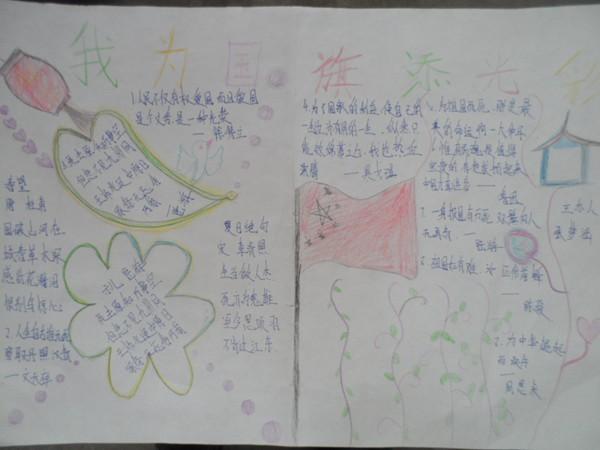 聊城市东阿县第四中学八年级五班 张梦涵 指导教师:洪传印-张梦涵