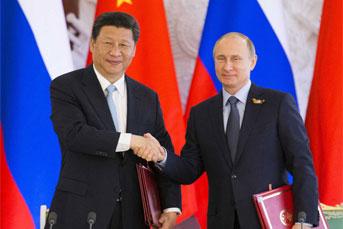 习近平同俄罗斯总统会谈