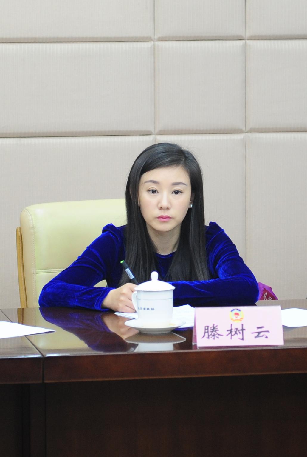 山东广播电视台齐鲁频道主持人滕树云