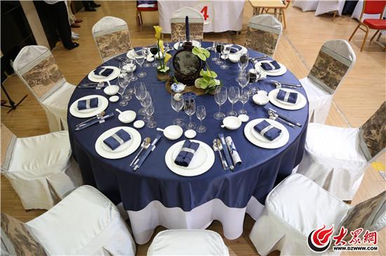 中餐宴会摆台,餐巾折花,斟酒,主题设计思想解析及菜单分析.