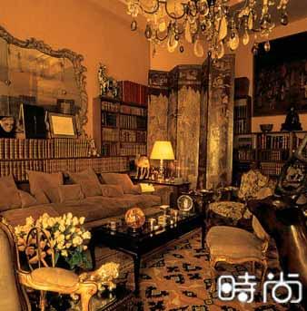 组图:法国服装设计师夏奈尔的家