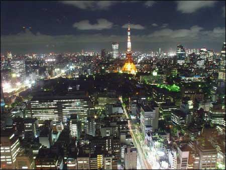 繁华的东京夜景(组图)