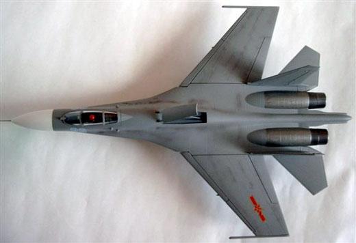 模型欣赏:su-27战斗机